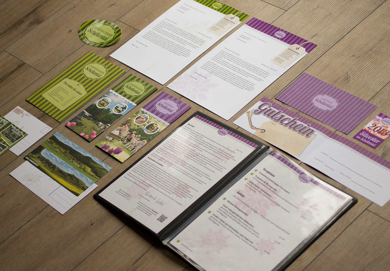 Corporate Design Printsachen