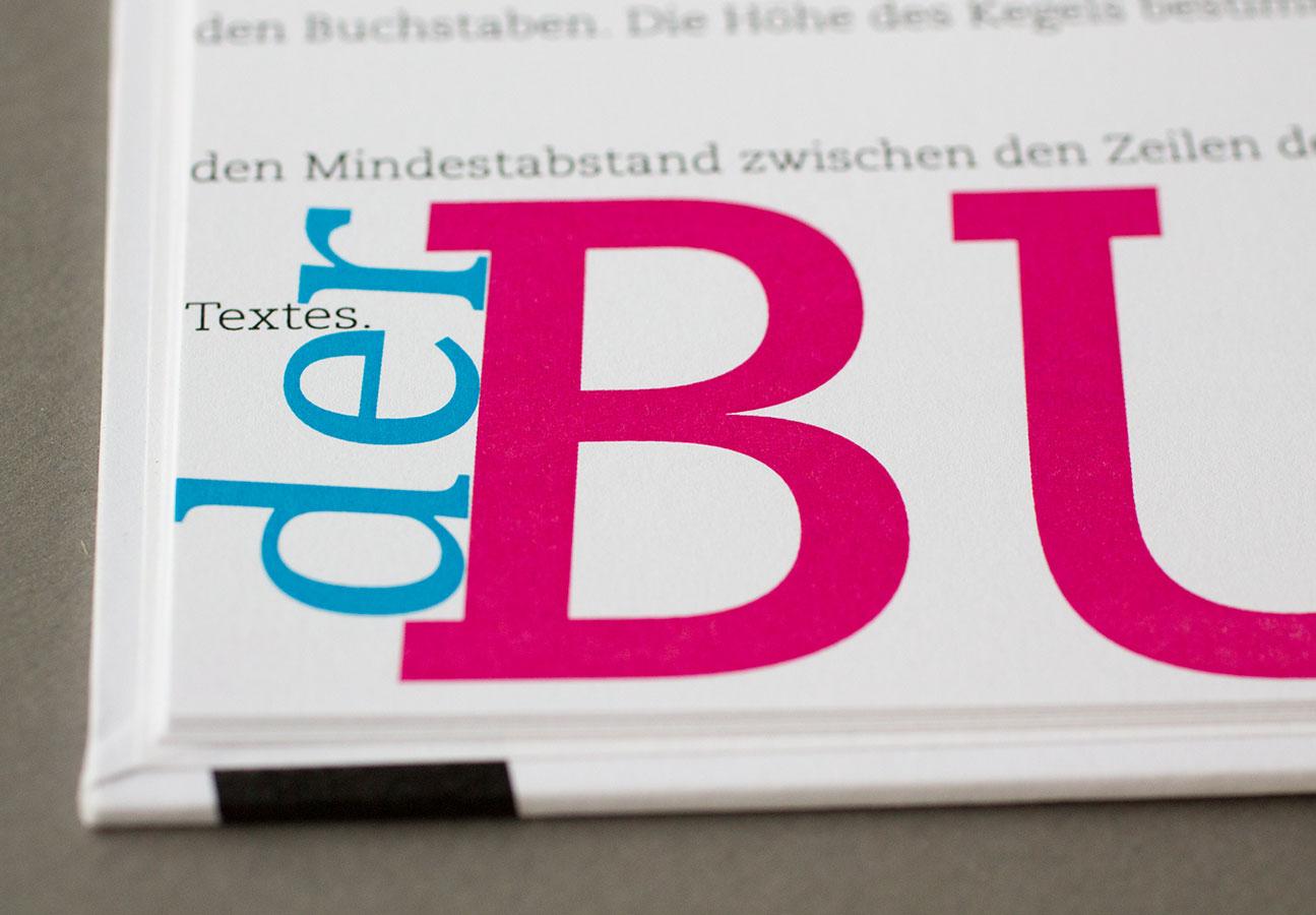 Ein Buch über Typografie